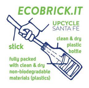 Ecobrick.it Sticker big-41