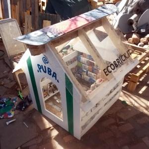 Ecobrick Doghouse