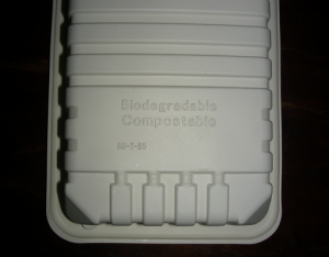 Bring your own to-go container to restaurants!